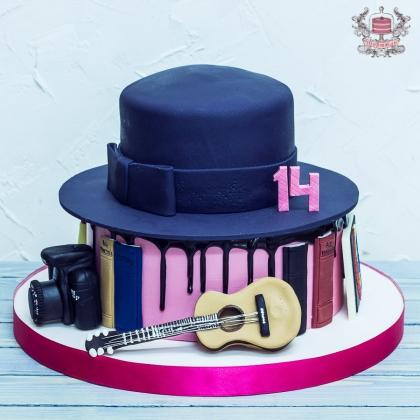 Торт для девочки на 14 лет