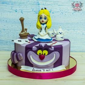 Торт алиса в стране чудес