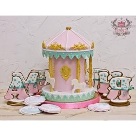 Торт карусель