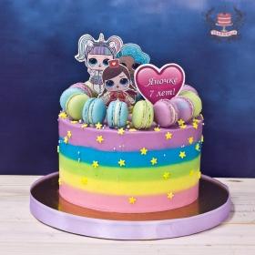 Торт в стиле лол