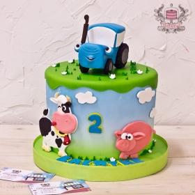 Торт для ребенка на 2 года