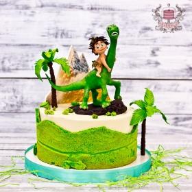 Торт хороший динозавр