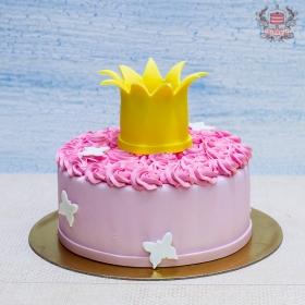 Торт с короной для девочки