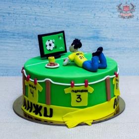Торт для болельщика