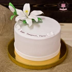 Торт с лилией