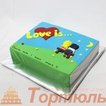 Торт Love is... 1