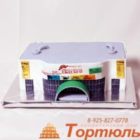 Торт торговый центр Снегири