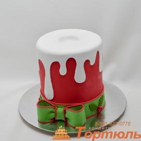 Торт свечка