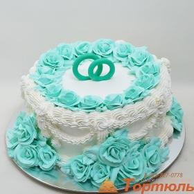 Торт сливочный
