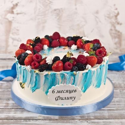 Торт на полгодика