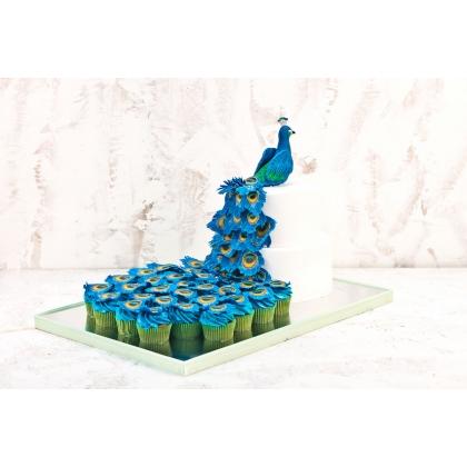 Торт павлин
