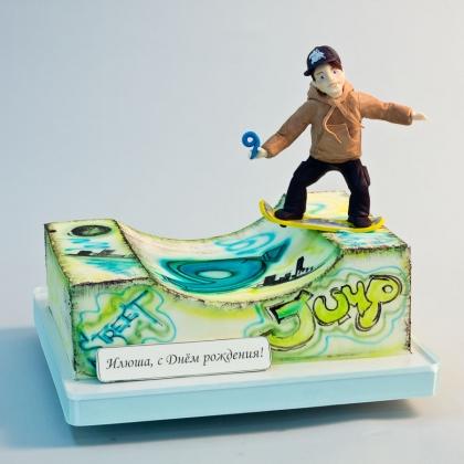 Торт скейтер