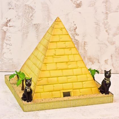 Торт египетская пирамида