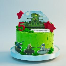 Торт стальные монстры