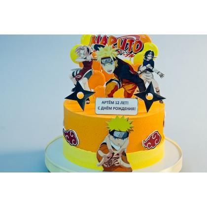 Торт с Наруто