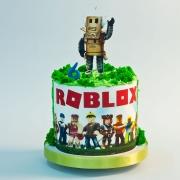 Торт Роблокс без мастики