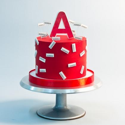 Торт для сотрудника банка
