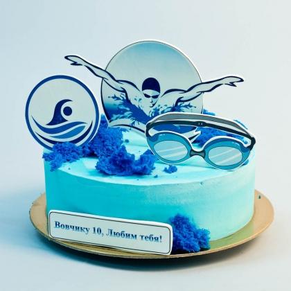 Торт для плавца