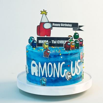 Торт Among us