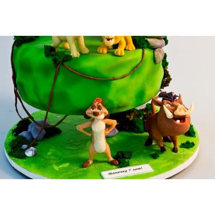 Торт король лев