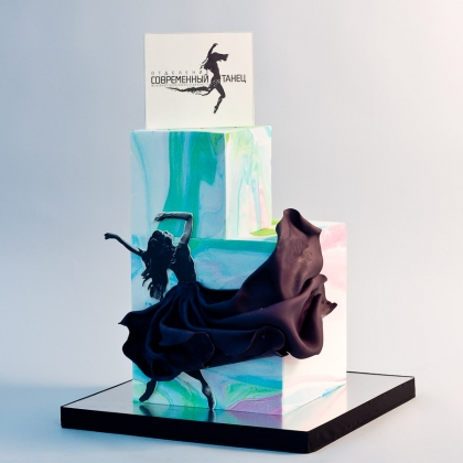 Торт для школы танцев