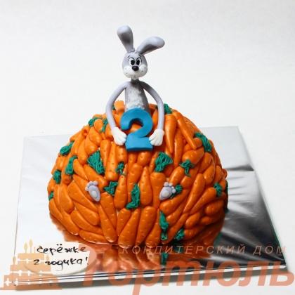 Торт Заяц обжора