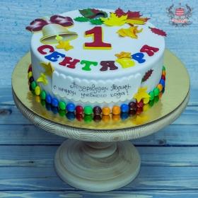 Торт на 1 сентября