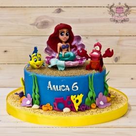 Торт с Ариэль