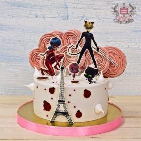 Торт Леди баг и Супер кот