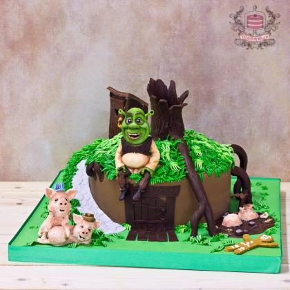 Торт Шрек