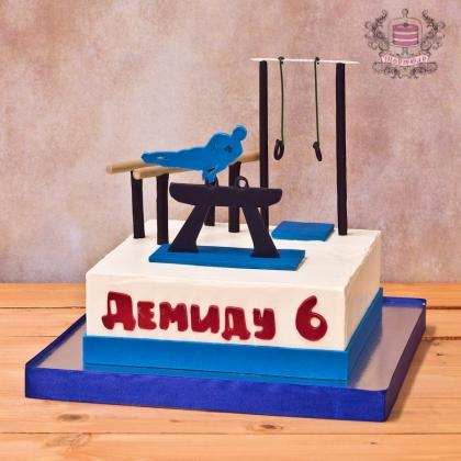 Торт для гимнаста