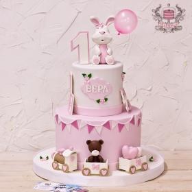 Торт на день рождения девочке 1 годик