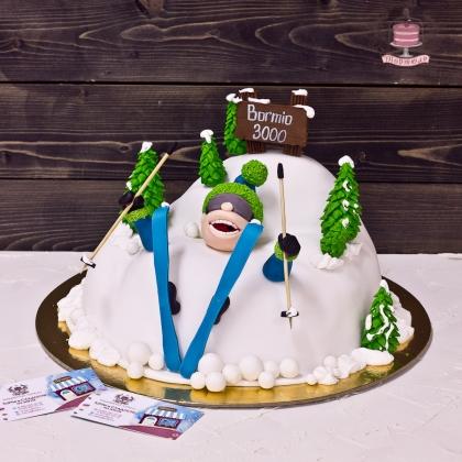 Торт для горнолыжника