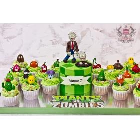 Сладкий стол зомби и овощи