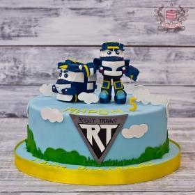 Торт роботы поезда