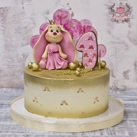 Торт с зайкой и пряником