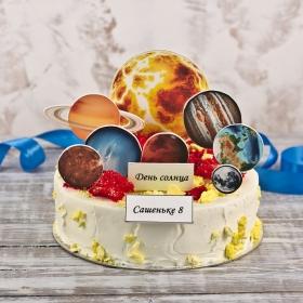 Торт с планетами 1,3 кг