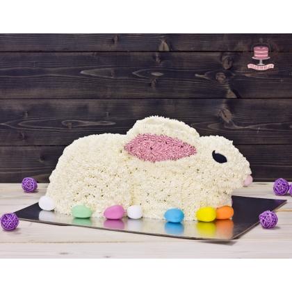 Торт пасхальный кролик