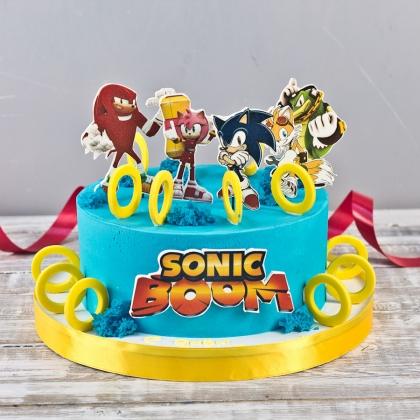Торт соник бум