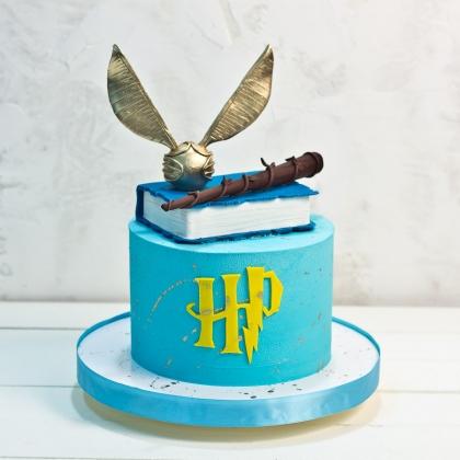 Торт Гарри Поттер без мастики