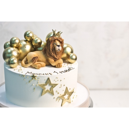 Торт со львом