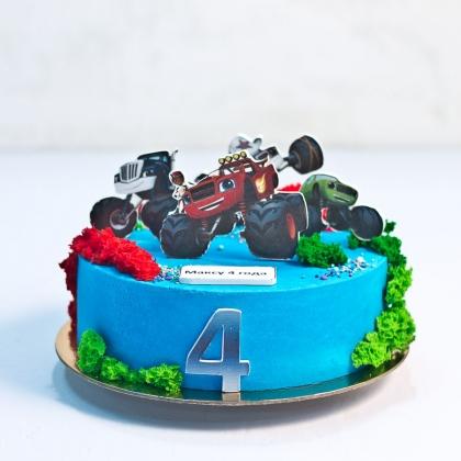 Торт Вспыш без мастики