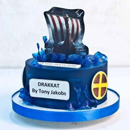 Торт викинги