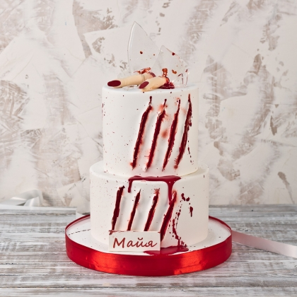 Торт страшилки