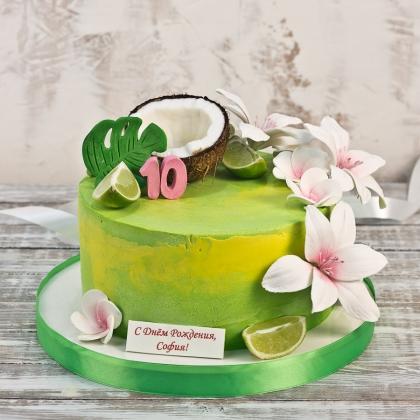 Торт гаваи