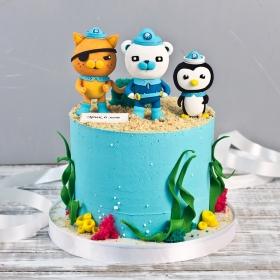 Торт с октонавтами