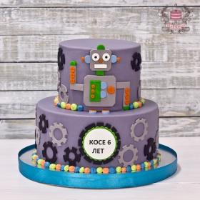 Торт роботы