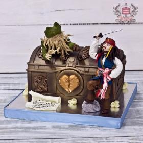 Торт пираты карибского моря