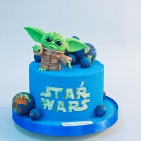Торт звездные войны