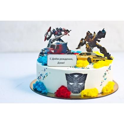 Торт трансформеры